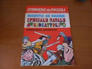 rivista a fumetti-CORRIERE dei PICCOLI n.48-nov.1969-+inserto spec. GIOCATTOLI