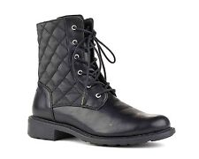 New Woman's Size 7 Black Waterproof Boots Cougar Jessy Boots Winter Combat