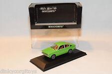 . MINICHAMPS OPEL KADETT C COUPE 1973-1977 GREEN MINT BOXED
