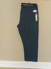 Just My Size Women's plus Fleece Sweatpants Navy Heather 5X(30w-32w) New