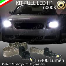 KIT FULL  LED AUDI TT 8N LAMPADE LED H1 6000K BIANCO GHIACCIO NO ERROR 6400 LM