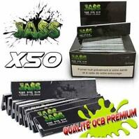 JASS SLIM Black Edition - Boite de 50 Carnets - NEUF/FR