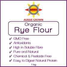 Rye Flour Organic 1kg - Australian GMO Free