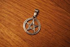 Anhänger Pentagramm Amulett Silber 925 3 cm