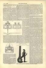 1893 Sand Dredger Brancker Description Fred Heron Phoenix Iron Co Eye Bar