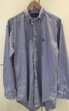 Ralph Lauren Striped Single Cuff Long Formal Shirts for Men