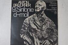 Bruckner Filarmonica 9 Bernard Haitink Concertgebouw Orchestra ORBIS 76397 lp34