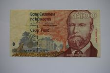 More details for central bank of ireland one £100 hundred pounds banknote aak582532 22.08.96 ok