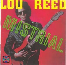 Mistrial * by Lou Reed (CD, 1986, RCA) Japanese Import