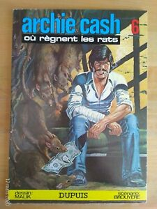 Archie Cash By Malik Tome 6 Where Règnent The Rats Since Eo Paperback 1977