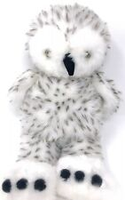 Build-A-BearHarry Potter Spotted Snowy Owl Hedwig Plush Doll Toy Rotating Head