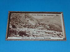 CHROMO PHOTO CHOCOLAT SUCHARD 1934 EUROPE GRECE HELLAS RUINES DE DELPHES