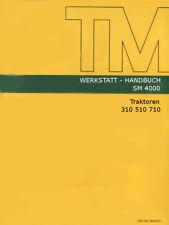 Werkstatthandbuch,Reparaturanleitung CD-Rom zum John Deere-LANZ 310 510 710