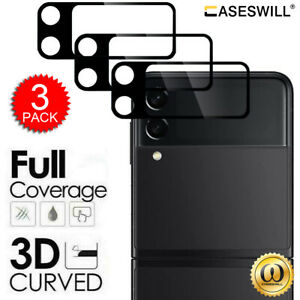 For Samsung Galaxy Z Flip 3 5G 3D Tempered Glass Camera Lens Screen Protector