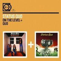 """STATUS QUO """"ON THE LEVEL/ QUO"""" 2 CD NEU"""