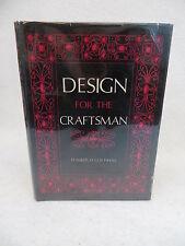 Franklin H. Gottshall  DESIGN FOR THE CRAFTSMAN Bonanza Book c. 1950 HC/DJ