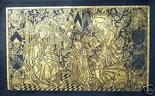 Marguerite de Scorney,A wonderful  hand crafted Brass Rubbing, c1460 engraving