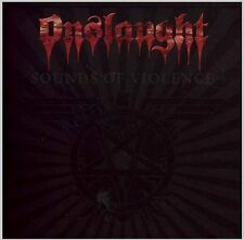 ONSLAUGHT SOUNDS OF VIOLENCE SEALED CD NEW