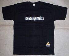 Tee-shirt T-shirt Martial Arts Martieaux noir 100% coton taille L