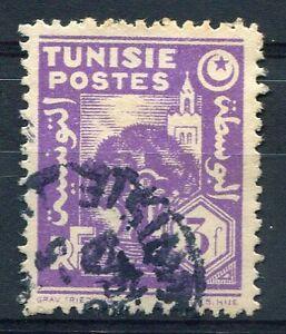 TUNISIE 1944-45, timbre n° 260, oblitéré