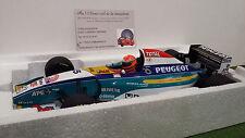 F1 JORDAN PEUGEOT IRVINE #15 EJR 195 1/18 Minichamps 180950015 voiture miniature