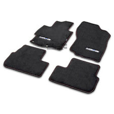 FOR 08-12 LANCER GTS/EVO X CZ4A/CY2A SUPREME FIBER NYLON BLACK FLOOR MATS/CARPET