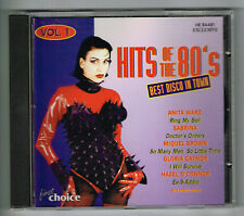Musik CD HITS OF THE 80'S Best Disco in Town Vol. 1