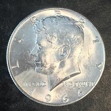 1pc 1964 Kennedy Silver Half Dollar - Investment Quality Brilliant Uncirculated