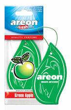 5pcs Areon Car Air Freshener Green Apple