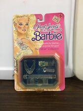 Vintage Mattel Jewel Secrets Barbie The Silver Collection #1924 Jewelry Box Moc