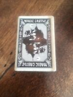 The Magic Castle Hollywood CA Matchbox Matches Black Tip Unused Vintage 1960's