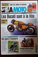 LVM - La Vie de la Moto n°405; 27/10/2005; Technique batterie-bobine/ Les Ducati