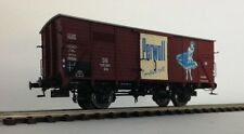 """BRAWA 49075 Gedeckter Güterwagen G 10 """"Perwoll"""" DB Epoche III NEU & OVP"""