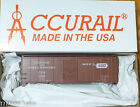 Accurail HO #3551 (Rd #72534) C&NW North Western (40' AAR Steel Boxcar) Plastic