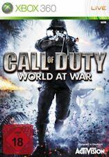 Microsoft Xbox 360 juego-Call of Duty: World at War (alemán) (con embalaje original)