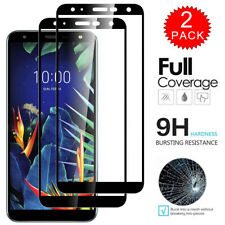 For LG K40 - Full Coverage Tempered Glass Film Screen Protector [2-Pack]
