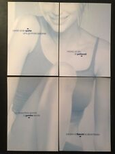 NIVEA BODY PUZZLE Serie 4 Cartoline Promocard 2952/2968 CREMA