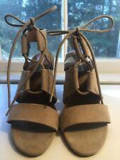 Steve Madden Strap Emalena Sandals Sand Suede Size 8