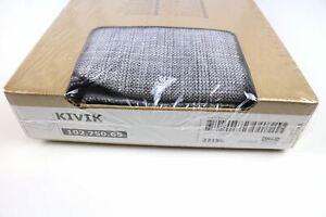 IKEA COVER for KIVIK Footstool ISUNDA GRAY KIVIK Ottoman Slipcover - NEW sealed