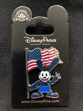 Disney Parks Pin Trading Oswald American Flag