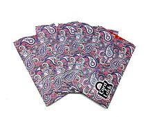 Card Lock RFID Credit Card Protection Sleeves Purple Paisley Look As Seen TV 5pk