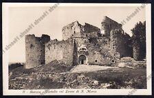 GORIZIA CITTÀ 136 CASTELLO Cartolina FOTOGRAFICA 1929
