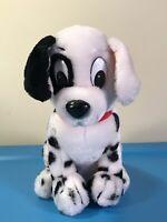 "Applause Patch 101 Dalmations Plush Disney Dog 9"" Stuffed Animal Toy Vintage"