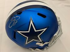 EMMITT SMITH SIGNED DALLAS COWBOYS FULL SIZE BLAZE ALTERNATE HELMET BECKETT BAS