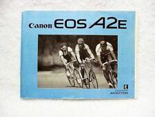 CANON EOS A2E Instructions | $9 |