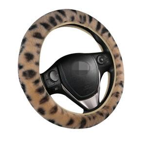 3Pcs Car Steering Wheel Cover Handbrake Cover Gear Shift Cover Keep Warm Winter