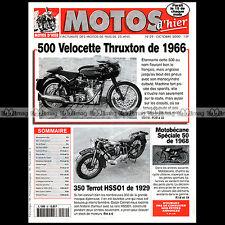 MOTOS D'HIER N°30 TERROT 350 HSSO1 VELOCETTE 500 THRUXTON MOTOBECANE 50 SPECIALE