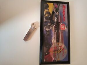 Snap On Magnetic Clock and Lighter hot rod