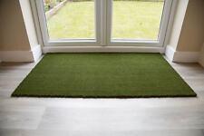 Quality Coir Entrance Mat Green 80cm x 120cm UK Floor Mat