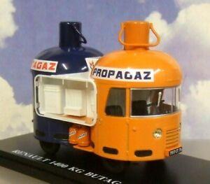 """1/43 RENAULT T 1400 """"BUTAGAZ/PROPOGAZ"""" TOUR DE FRANCE 1954 P/A ADVERTISING CAR"""